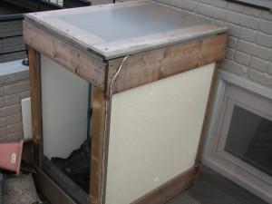 自作の温室