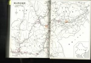 虎林線沿線図