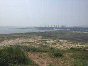 葫蘆島の港