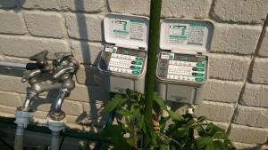 パナソニック製・自動潅水ユニット