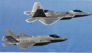 上:F22 下:F35