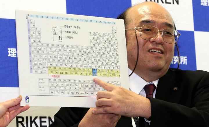 新元素の発見_ニホニウムと命名