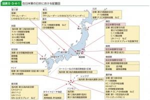 在日米軍基地・配置図