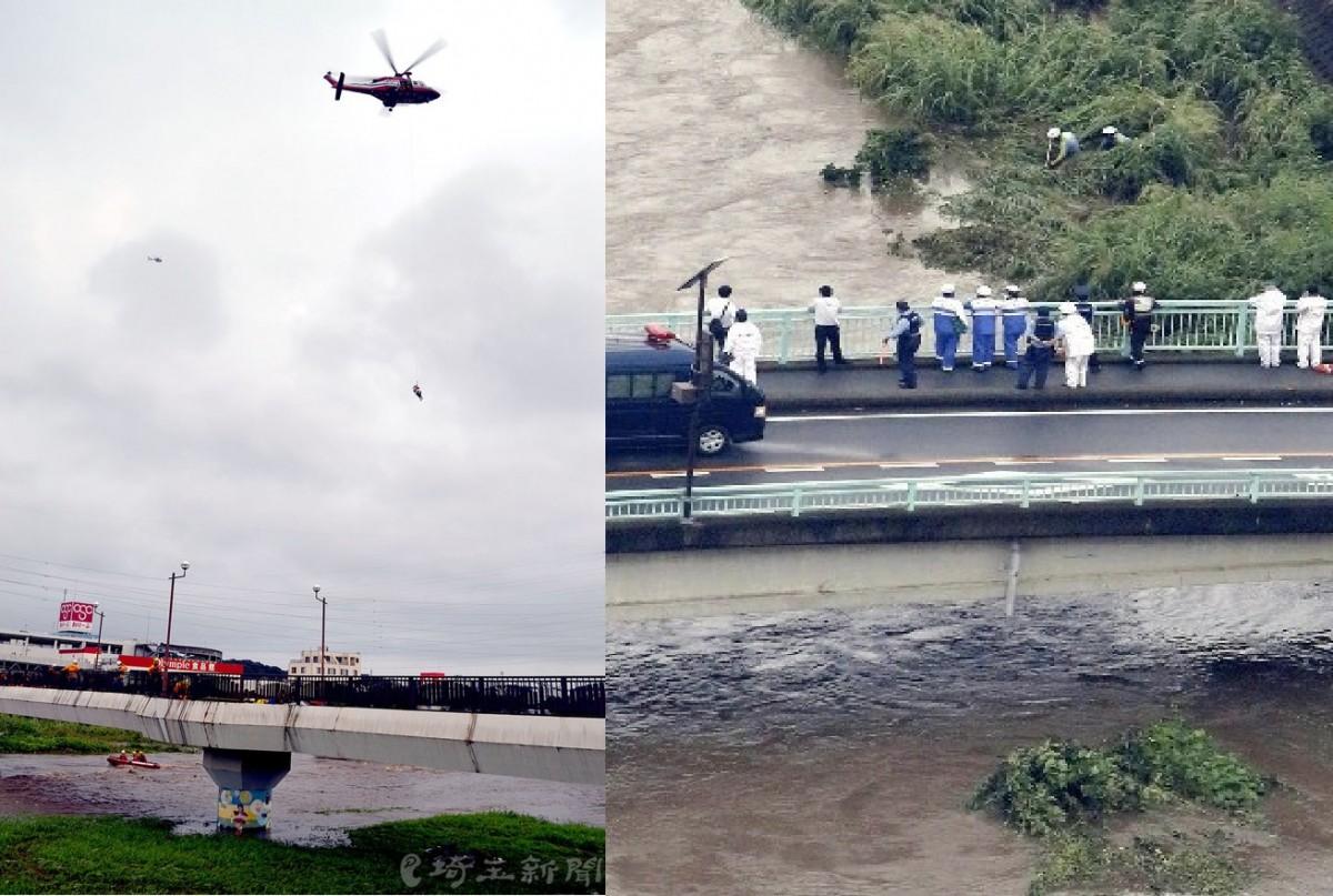 柳瀬川・水難事故写真