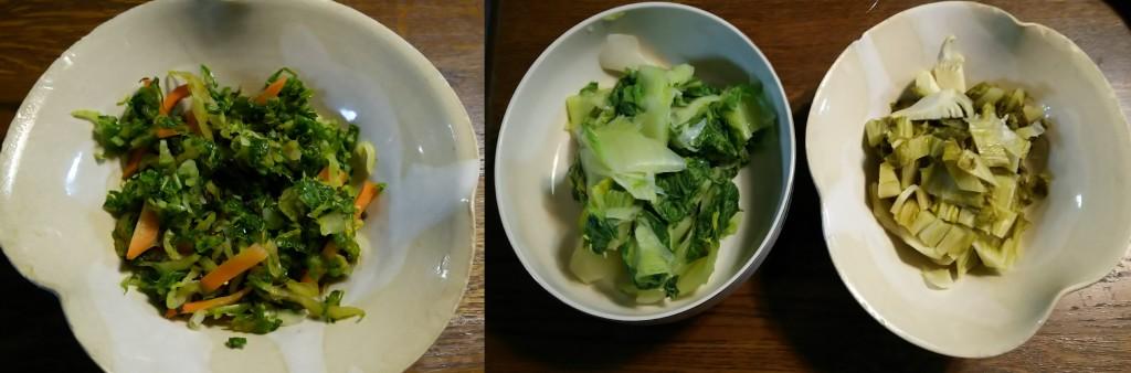 白菜料理.各種