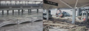 仙台空港の被害状況
