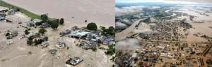 2015年・鬼怒川決壊の被害状況