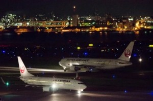 羽田空港_夜間