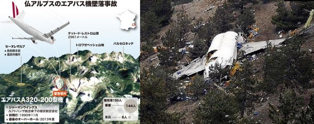 ジャーマンウィングスA320型機墜落