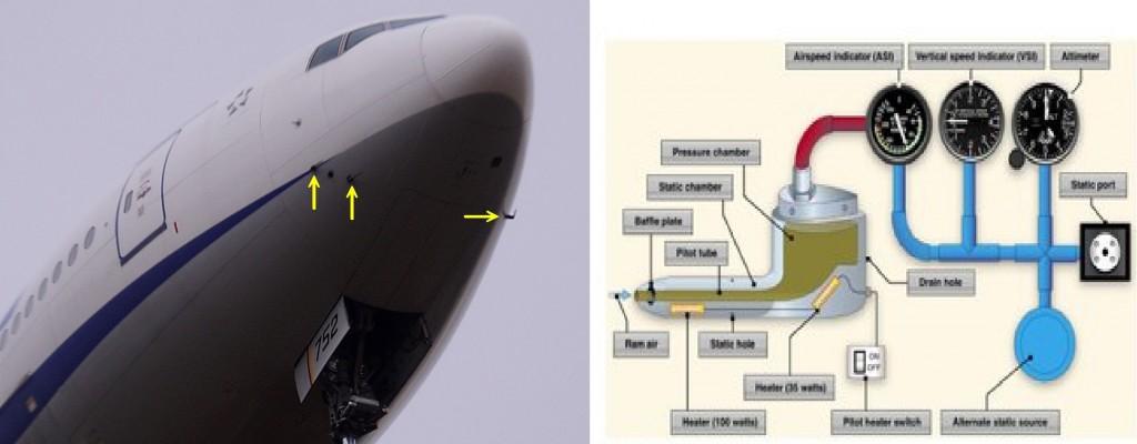 777型機のピトー管_装着位置と原理