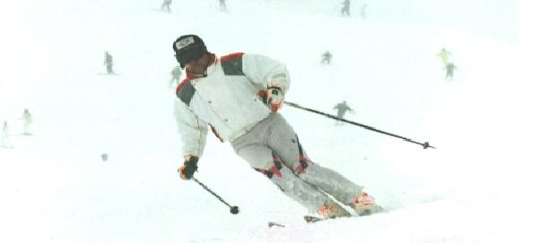 高齢スキーヤーが安全なターンを行うには