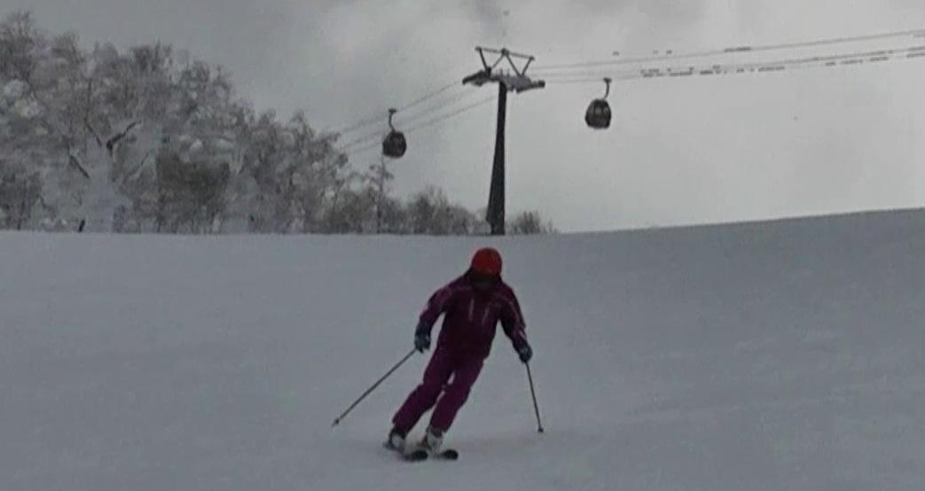 高齢者スキー技術の実践_その3