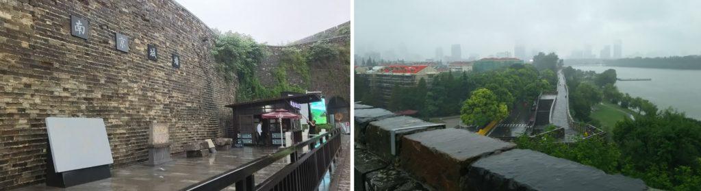 南京城壁_右の川は揚子江